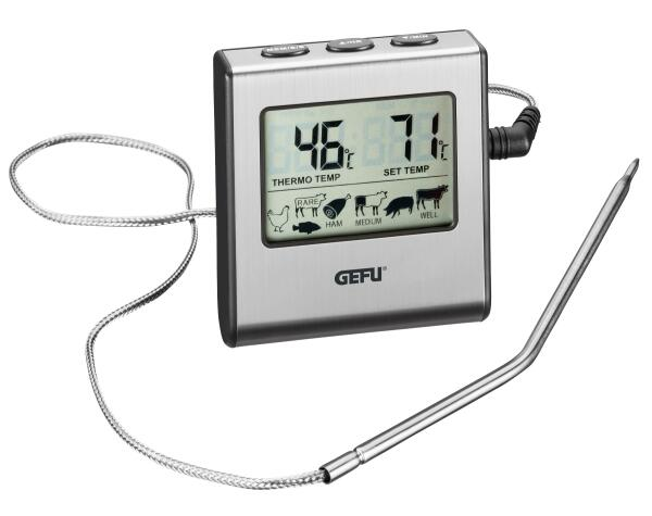GEFU digitales Bratenthermometer TEMPERE